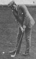 Willie Park Junior Stance Long Putt